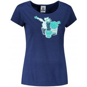 Dámské triko ALTISPORT ALW073122 PŮLNOČNÍ MODRÁ