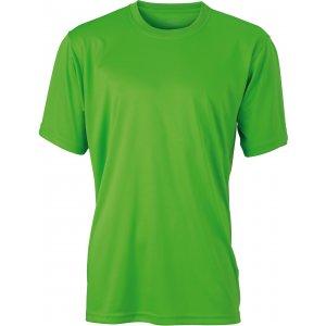 Pánské funkční triko JAMES NICHOLSON JN358 LIME GREEN