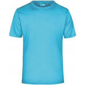 Pánské funkční triko JAMES NICHOLSON JN358 PACIFIC