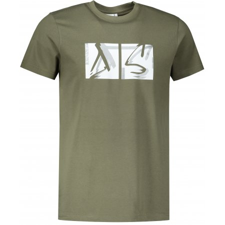 Pánské triko ALTISPORT ALM078129 KHAKI