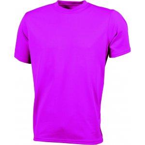 Pánské funkční triko JAMES NICHOLSON JN358 PINK