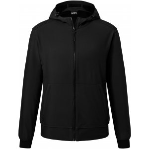 Pánská softshellová bunda JAMES NICHOLSON JN1146 BLACK/BLACK