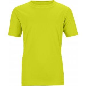 Dětské funkční triko JAMES NICHOLSON JN358K ACID YELLOW