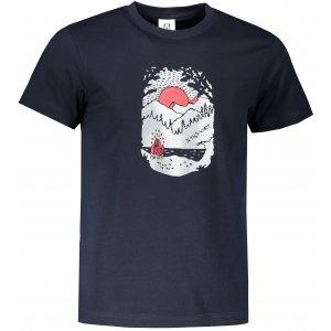 Pánské triko ALTISPORT ALM082129 NÁMOŘNÍ MODRÁ