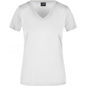Dámské funkční triko JAMES NICHOLSON JN735 WHITE