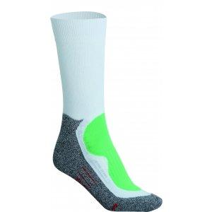 Sportovní ponožky JAMES NICHOLSON JN211 WHITE/GREEN