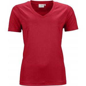 Dámské funkční triko JAMES NICHOLSON JN735 RED