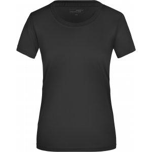 Dámské funkční triko JAMES NICHOLSON JN357 BLACK