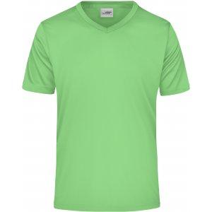 Pánské funkční triko JAMES NICHOLSON JN736 LIME GREEN