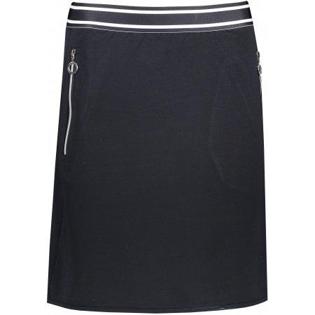 Dámská sukně LUHTA AILIO TMAVĚ MODRÁ
