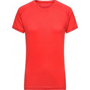 Dámské funkční triko JAMES NICHOLSON JN519 BRIGHT RED