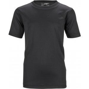 Dětské funkční triko JAMES NICHOLSON JN358K BLACK