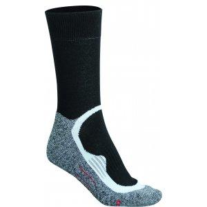 Sportovní ponožky JAMES NICHOLSON JN211 BLACK/BLACK
