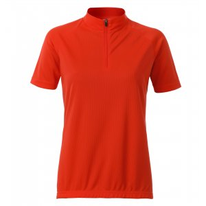 Dámský cyklo dres JAMES NICHOLSON JN511 BRIGHT ORANGE