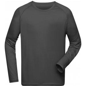 Pánské funkční triko s dlouhým rukávem JAMES NICHOLSON JN522 TITAN