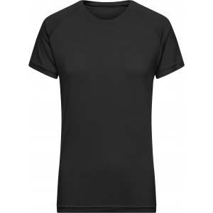 Dámské funkční triko JAMES NICHOLSON JN519 BLACK