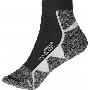 Sportovní ponožky JAMES NICHOLSON JN214 BLACK/WHITE
