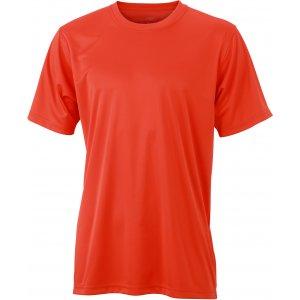 Pánské funkční triko JAMES NICHOLSON JN358 GRENADINE