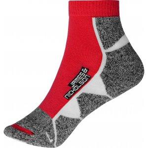 Sportovní ponožky JAMES NICHOLSON JN214 RED/WHITE