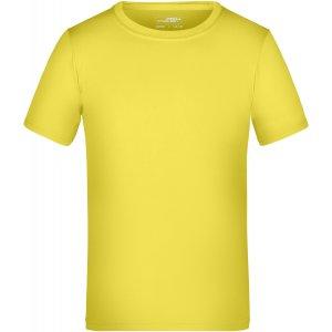 Dětské funkční triko JAMES NICHOLSON JN358K YELLOW