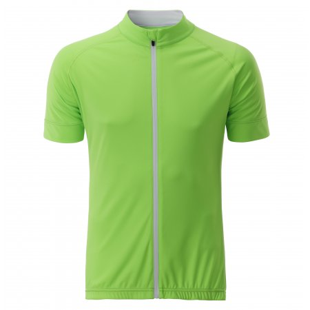 Pánský cyklo dres JAMES NICHOLSON JN516 BRIGHT GREEN/WHITE