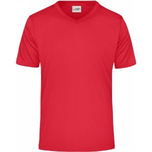 Pánské funkční triko JAMES NICHOLSON JN736 RED