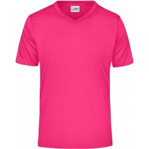 Pánské funkční triko JAMES NICHOLSON JN736 PINK