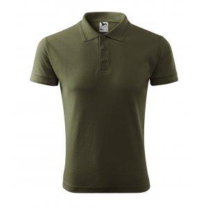 Pánské triko s límečkem MALFINI PIQUE POLO 203 MILITARY