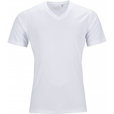 Pánské funkční triko JAMES NICHOLSON JN736 WHITE