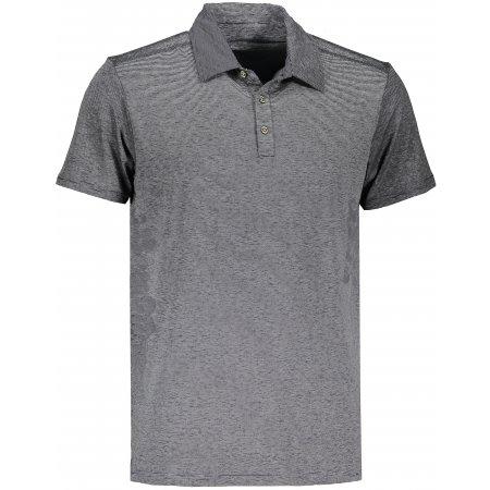 Pánské triko s límečkem ICEPEAK MAUNIE ŠEDÁ