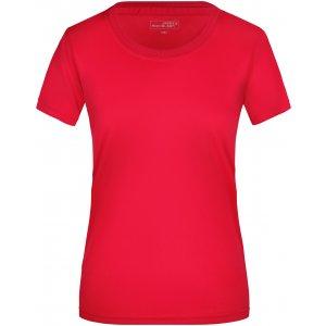 Dámské funkční triko JAMES NICHOLSON JN357 RED