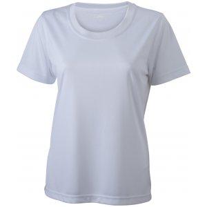 Dámské funkční triko JAMES NICHOLSON JN357 WHITE