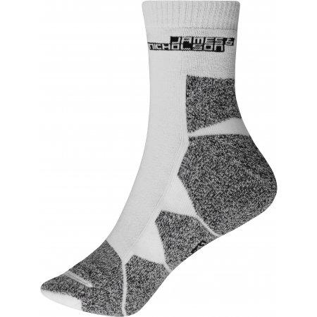 Sportovní ponožky JAMES NICHOLSON JN215 WHITE/WHITE