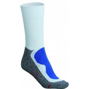 Sportovní ponožky JAMES NICHOLSON JN211 WHITE/ROYAL