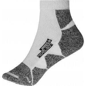 Sportovní ponožky JAMES NICHOLSON JN214 WHITE/WHITE