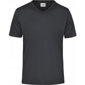 Pánské funkční triko JAMES NICHOLSON JN736 BLACK