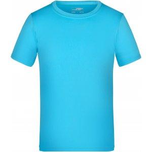 Dětské funkční triko JAMES NICHOLSON JN358K TURQUOISE