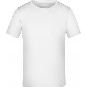 Dětské funkční triko JAMES NICHOLSON JN358K WHITE