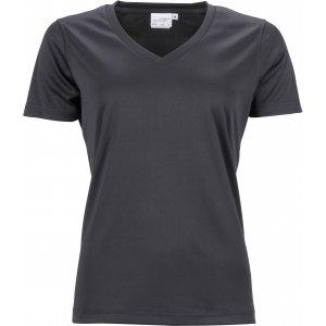 Dámské funkční triko JAMES NICHOLSON JN735 BLACK