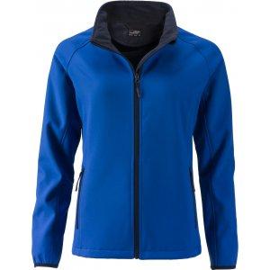 Dámská softshellová bunda JAMES NICHOLSON JN1129 NAUTIC BLUE/NAVY