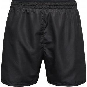 Pánské sportovní šortky JAMES NICHOLSON JN526 BLACK/BLACK PRINTED