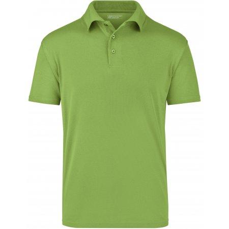 Pánské triko s límečkem funkční cooldry JAMES NICHOLSON JN024 GRASS