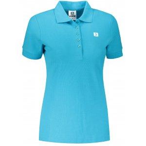 Dámské triko s límečkem ALTISPORT ALW065210 TYRKYSOVÁ