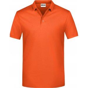 Pánské triko s límečkem classic JAMES NICHOLSON JN792 ORANGE