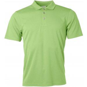 Pánské triko s límečkem funkční classic JAMES NICHOLSON JN720 LIME GREEN