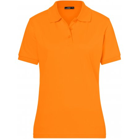 Dámské triko s límečkem premium JAMES NICHOLSON JN071 ORANGE
