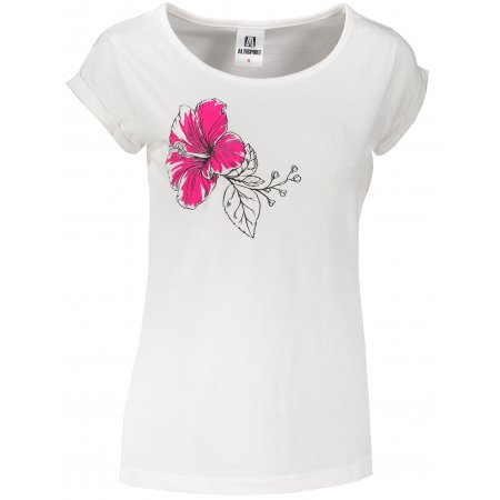 Dámské triko ALTISPORT ALW107164 BÍLORŮŽOVÁ