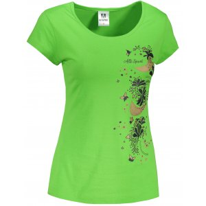 Dámské triko ALTISPORT ALW096122 APPLE GREEN