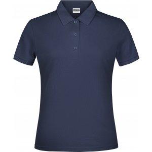 Dámské triko s límečkem classic JAMES NICHOLSON JN791 NAVY