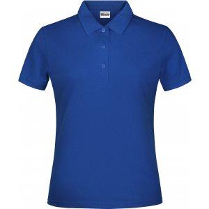 Dámské triko s límečkem classic JAMES NICHOLSON JN791 DARK ROYAL